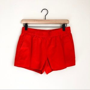 J CREW • boardwalk cotton pull on shorts